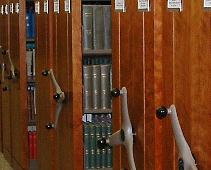 TAB storage design - markets - High-density mobile shelving system for university library 2