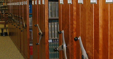 TAB storage design - markets - High-density mobile shelving system for university library 2
