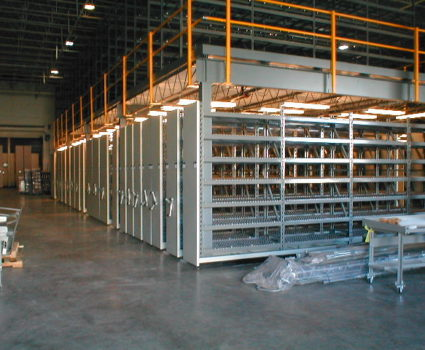 manufacturing, industrial and warehouse storage solutions