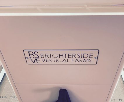 Brighterside Vertical Farms high-density mobile system.