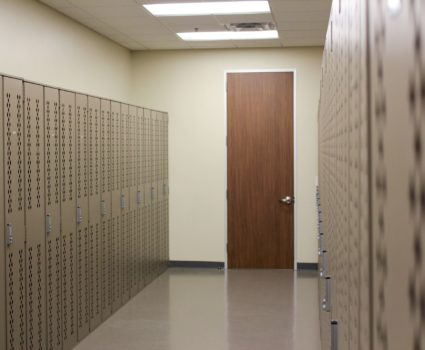 Storage lockers for engineering and land development company - 1