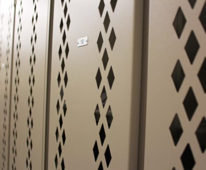 Storage lockers for engineering and land development company - 2