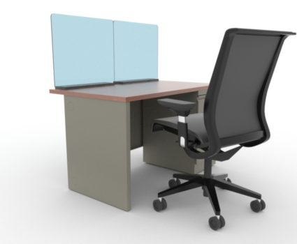 TAB work area employee safety shield - protect your employees' new work environment following COVID-19